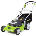 GreenWorks 25022<br>Corded Lawnmower with Mulch