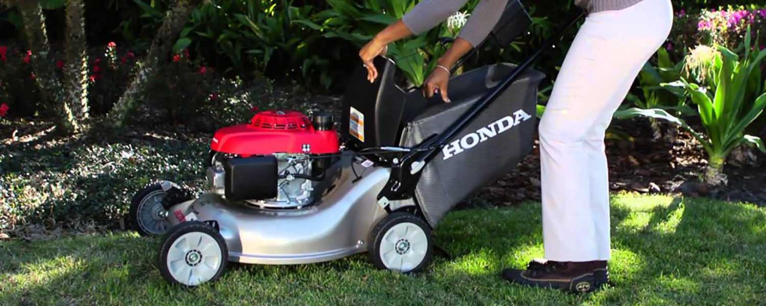 Honda HRR216K9VKA Variable Speed Self Propelled Lawnmower. Walk Behind Lawn  Mowers