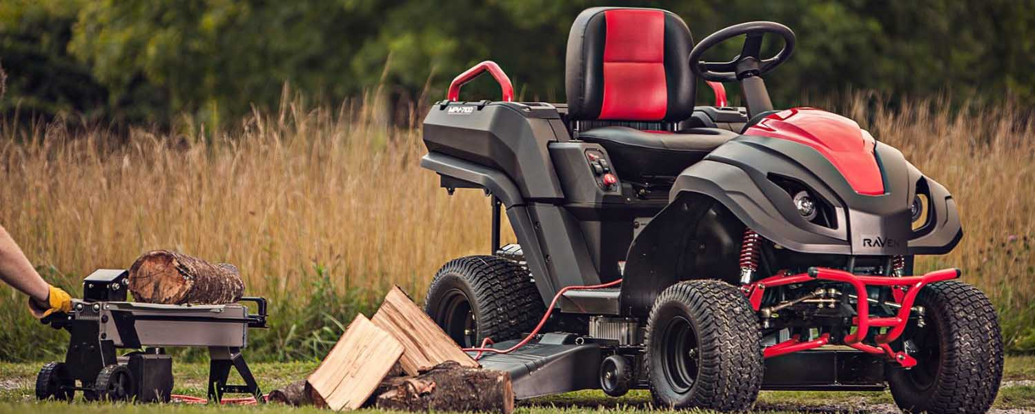 Raven Mpv7100 Hybrid Riding Lawnmower With Removable Deck