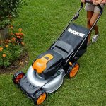 WORX WG772<br>Cordless 56V Lithium-Ion Mower with IntelliCut